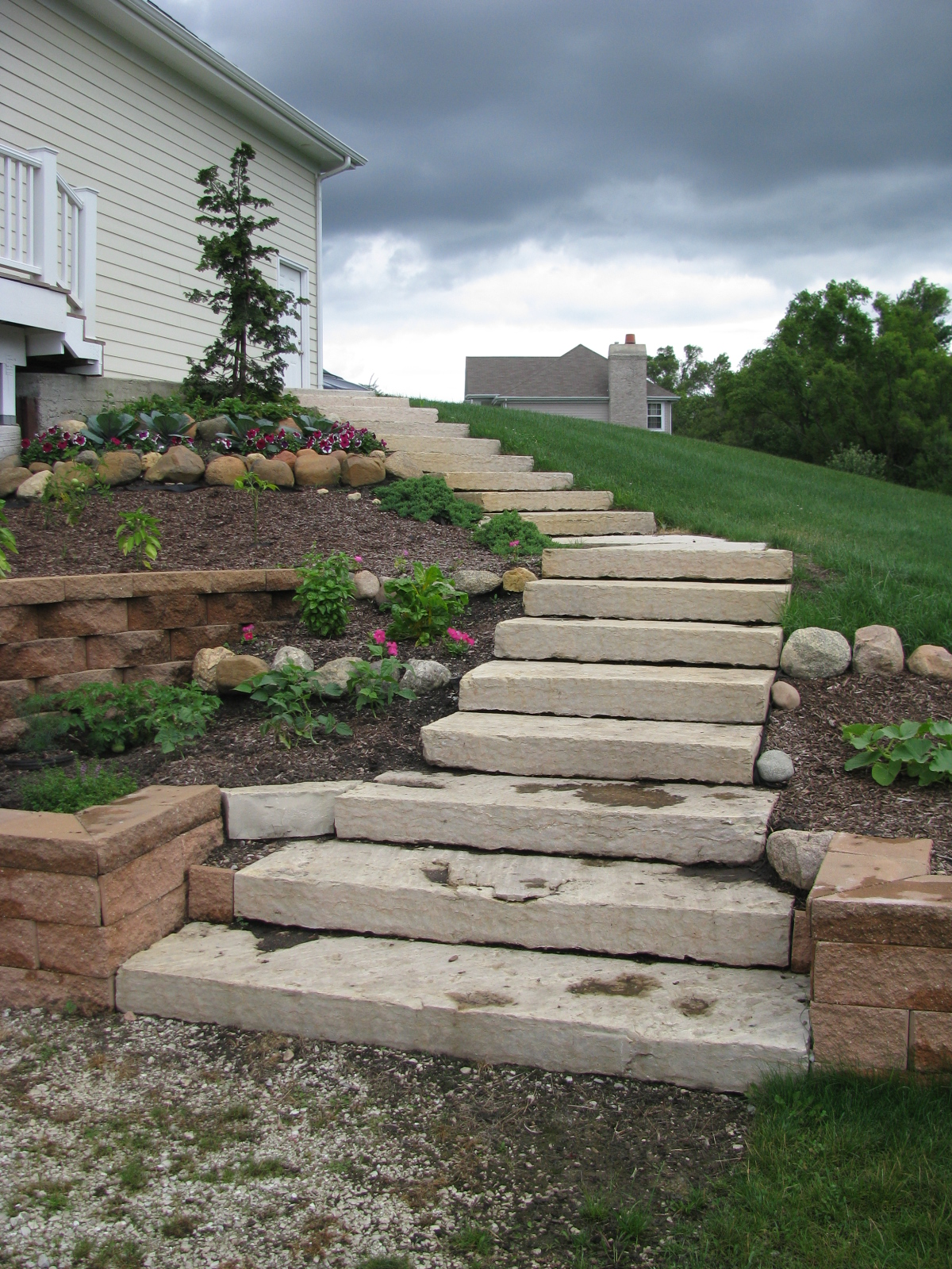 Outcrop Stone Stairs