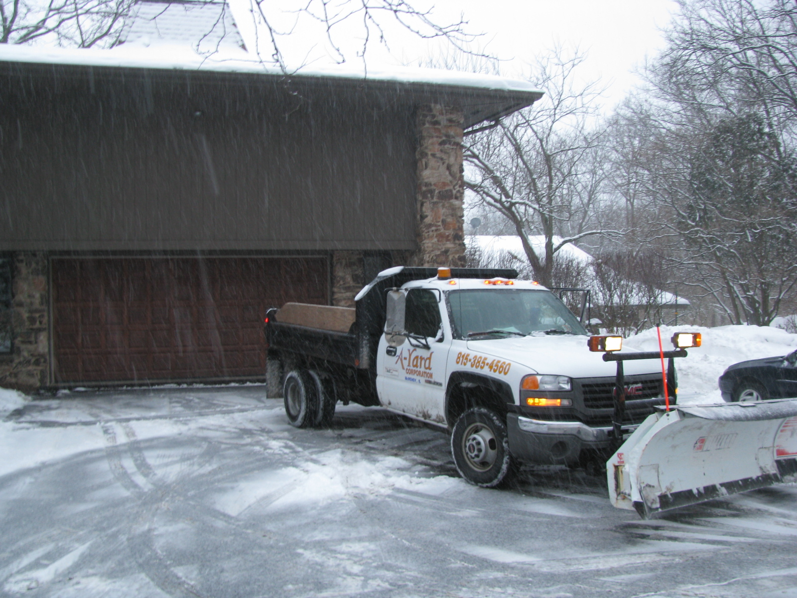 Commercial Snow Plowing McHenry County